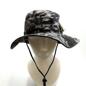 หมวกเดินป่าลายทหาร