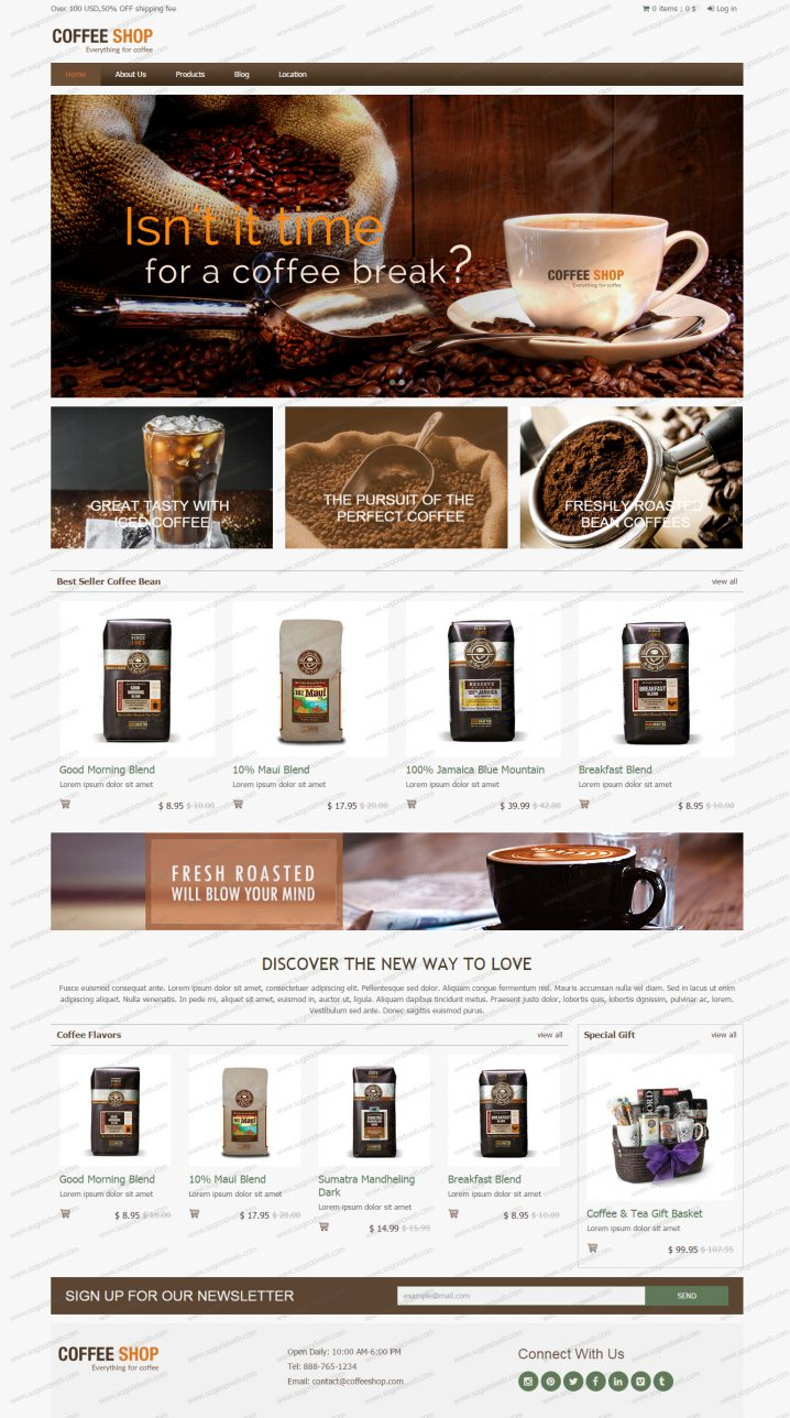 ร้านกาแฟ เมล็ดกาแฟ อุปกรณ์กาแฟ