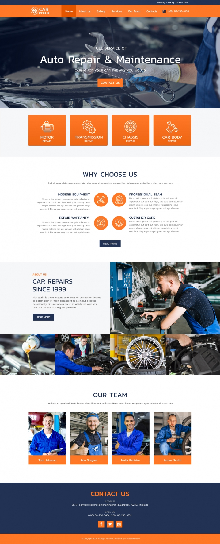 Car Servicing and Repairs