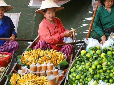 Damnern Saduak Floating Market - Half day tour (Code 1001)