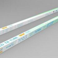 หลอดไฟ LED vivid T8 tube 18W 2100LM.  แสงสีขาว daylight 6500K