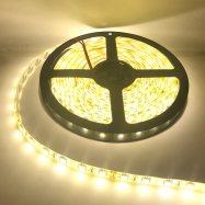 ไฟเส้น Led Striplight  5050 14.4W 24V 60LED/M 12-14Lm IP65 แสงวอมไว์ WarmWhite