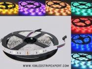 ไฟเส้น Led Striplight  IP65 5050 14.4W 24V 60LED/M 12-14Lm เปลี่ยนแสงได้ RBG ip 33