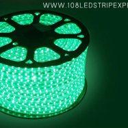 ไฟเส้นสายยาง STRIP LIGHT 5050 สีเขียว ยาว 100 ม. (ท่อแบน) +พร้อมSetอุปกรณ์