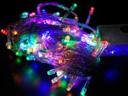ไฟกระพริบ LED สีรวม RGB  ขนาด 100 LED