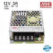 หม้อแปลง SWITCHING  Mean well  LRS  3A 35W 12V