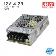 หม้อแปลง SWITCHING  Mean well  LRS  4.2A 50W 12V
