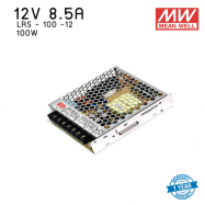หม้อแปลง SWITCHING  Mean well  LRS  8.5A 100W 12V