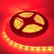ไฟเส้น Led Striplight  5050 14.4W 24V 60LED/M 12-14Lm  IP65 สีแดง