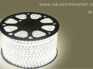 ไฟเส้นสายยาง STRIP LIGHT 5050 แสงขาว ยาว 100 ม. (ท่อแบน) +พร้อมSetอุปกรณ์