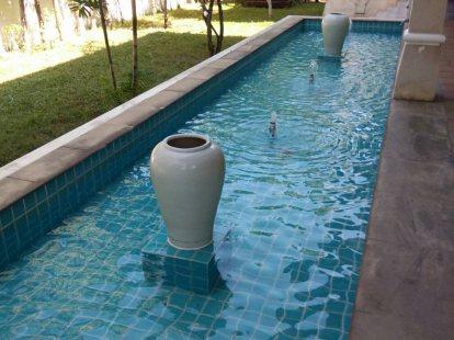 งานเปลี่ยนระบบกรองบ่อน้ำพุ
