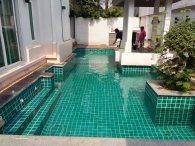 งานปรับปรุงระบบสระว่ายน้ำ หมู่บ้าน สิริธาวารา (เรียบด่วนรามอินทรา)