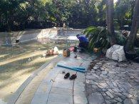 งานปรับปรุงสระว่ายน้ำ โรงแรมปาร์คนายเลิศ