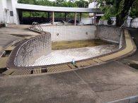 งานปรับปรุงระบบสระว่ายน้ำ โครงการบ้านสวนบางเขน