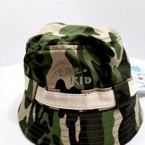 หมวกทรงบัตเก็ตลายทหาร