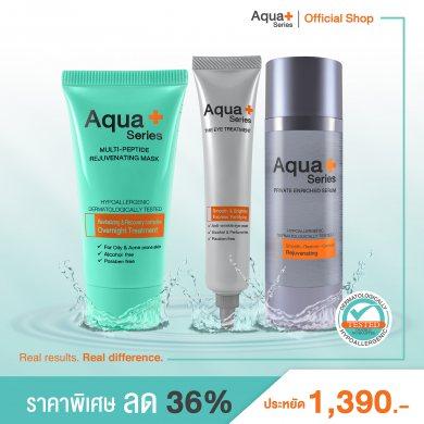 Aqua+ Series Anti-Aging Set ( ชุดดูแลปัญหาริ้วรอย ร่องลึกดูตื้นขึ้น)