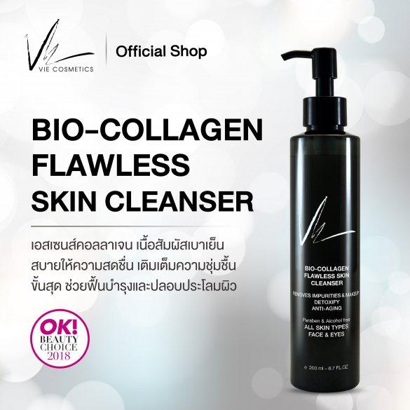 VIE BIO-COLLAGEN FLAWLESS SKIN CLEANSER 200 ml