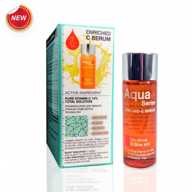 Aqua+ Series Enriched-C Serum 15 ml.