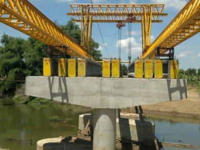 สะพานข้ามแม่น้ำชี อ.พนมไพร ร้อยเอ็ด