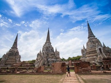 AYUTTHAYA WITH ELEPHANT RIDING ONE DAY TOUR (Code 1021)