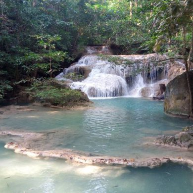 Erawan Waterfalls and the River Kwai (Code 1013)