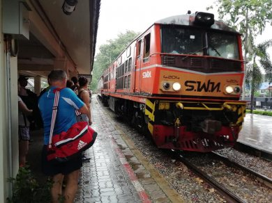 River Kwai Bridge - Elephant riding , Bamboo rafting and Train ride (Code 1029)