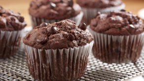 Chocolate Muffin (ไส้ซอสส้ม)