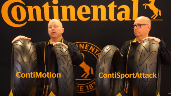 Conti Motion vs Conti Sport Attack - Continental Motorcycle Tire