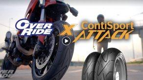 Over Ride Magazine พารีวิวยาง Conti SportAttack