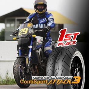 Continental SportAttack3 คว้าชัยในการแข่งขัน Naked 680+
