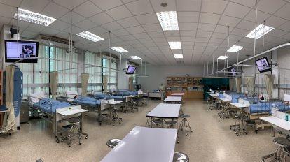 การนำภาพจากห้องเรียนหลักมาสู่ห้องเรียนย่อย