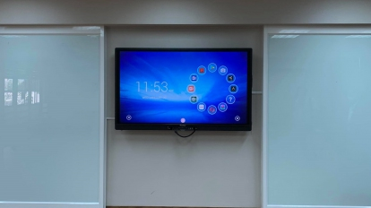 สื่อการสอนจอทีวีระบบสัมผัส Interactive สามารถใช้ควบคู่กับการเรียนออนไลน์ได้