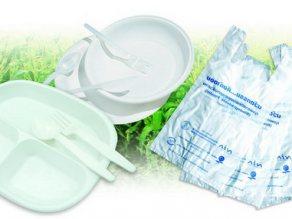 การใช้งานผลิตภัณฑ์พลาสติกย่อยสลายได้