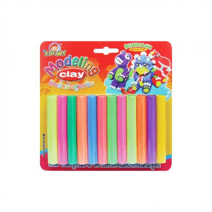 Modeling clay Reflective color 12 color 200 G.