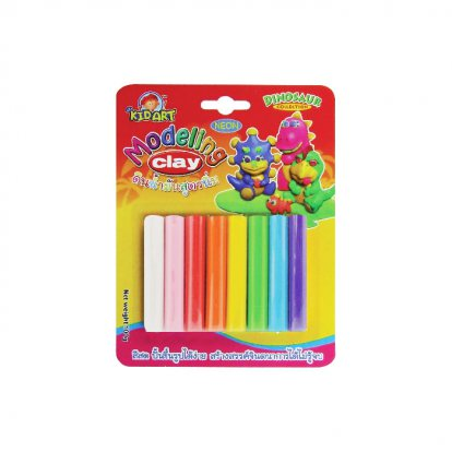 Modeling  clay 8  color 100 G.