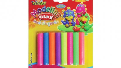 Modeling clay Reflective color 8 color 100 G.