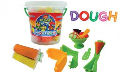 Dough 200 g. 3 colors + Mold