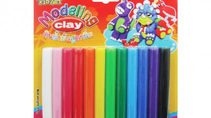 Modeling clay 12 color 200 G.