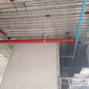 Installation of fire hose system (Yaowachon Suphanburi Court)