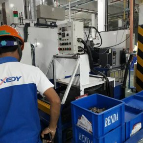 Duct pipe improvement system (EXEDY (Thailand) Co., Ltd. Amata Nakorn)