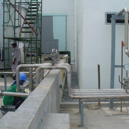 เดินระบบท่อน้ำมัน YUSHIRO (THAILAND) CO., LTD