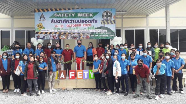 วันที่ 26 ตุลาคม 2563 ออกบูธแสดงสินค้าในงานของบริษัท ABBRA Safety week