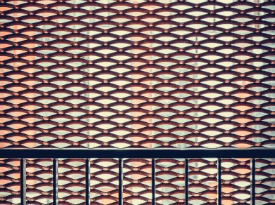 Ripped steel grating