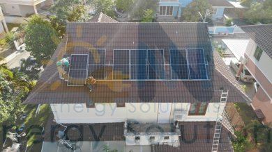 2.86kWp For Residential (Ban Chang district, Rayong)