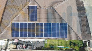 2.56 kWp For Residential (Nature Village, Mueang Rayong district, Rayong)