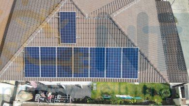 2.56 kWp สำหรับที่พักอาศัย (หมู่บ้าน The Nature อ.เมือง จ.ระยอง)