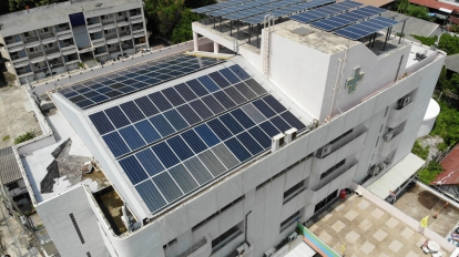 53.46kWp Thai Oil & GPSC CSR Project (Koh Sichang Hospital, Chonburi Province)