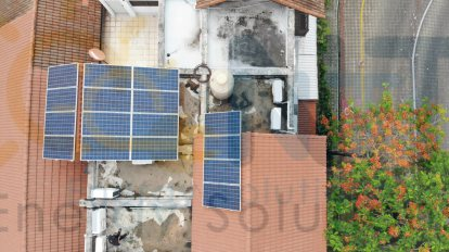 5.44kWp บ้านพักอาศัย (หมู่บ้านนิชดาธานี จ.นนทบุรี)