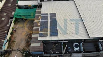9.60kWp Napat Supply Co., Ltd. (Map Ta Phut, Rayong)