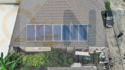 2.24kWp: Residential (Pluak Daeng District, Rayong Province)